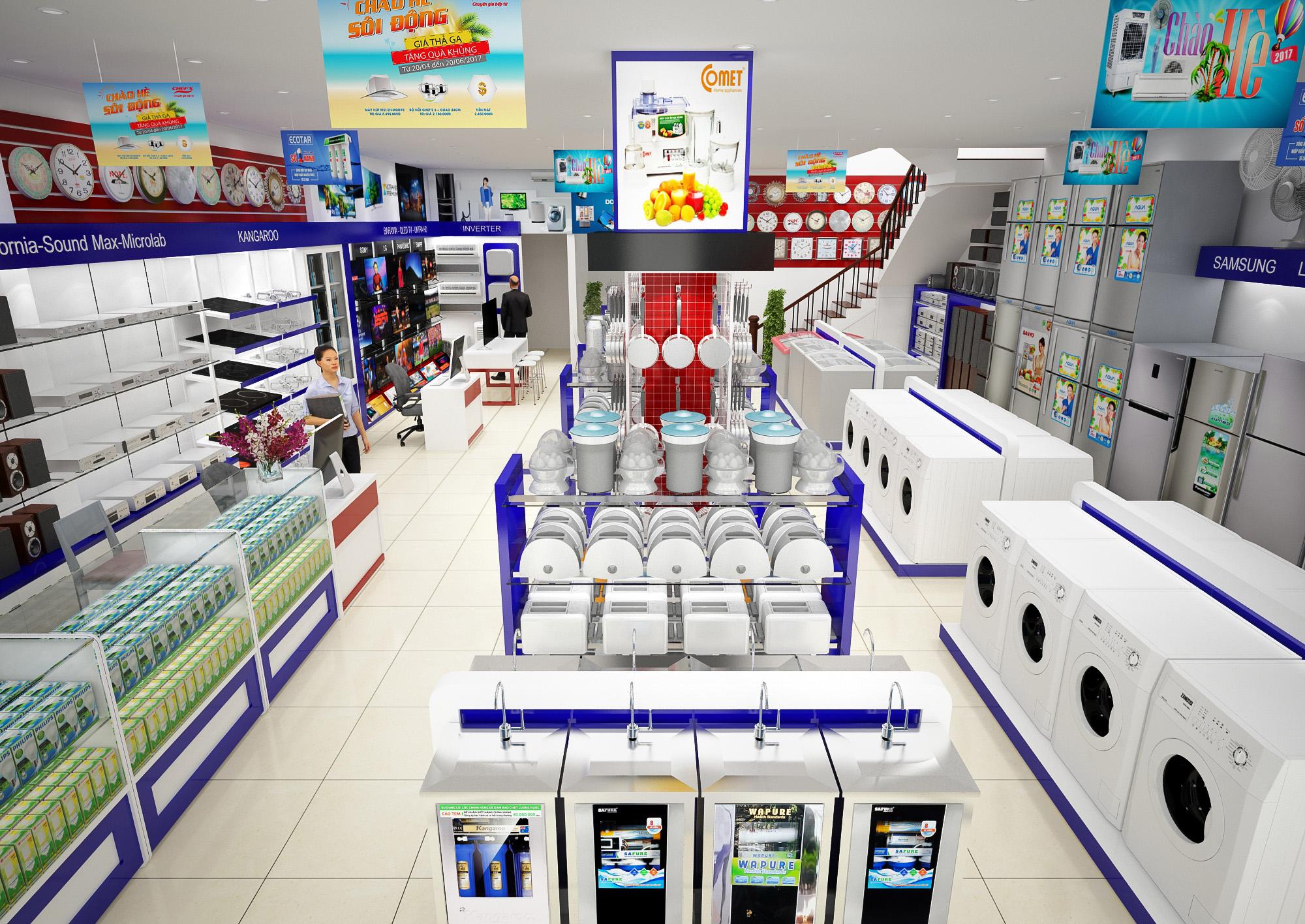 nhung dieu can luu y de bat dau mo cua hang kinh doanh dien lanh 5 - Kinh nghiệm kinh doanh cửa hàng điện máy hiệu quả