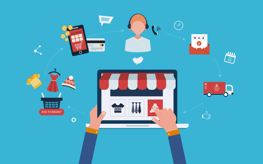 xây dựng hệ thống bán hàng online nhờ website